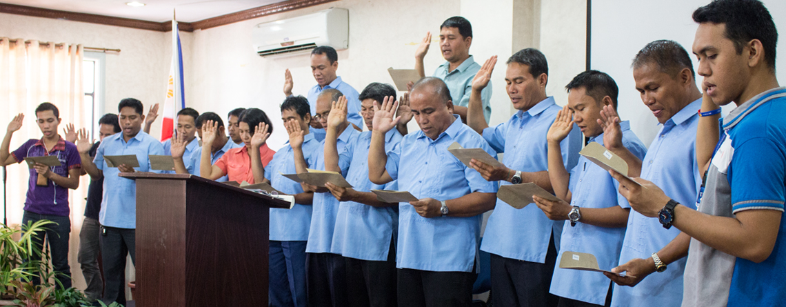 New KBP members take oath