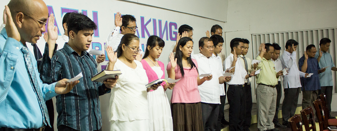 DHXD broadcasters take oath to be responsible broadcasters